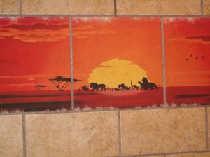 Kidani Village Bathroom Tile